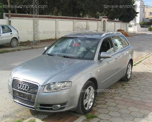 annonces voiture audi a4 occasion en tunisie a4 break neuf. Black Bedroom Furniture Sets. Home Design Ideas